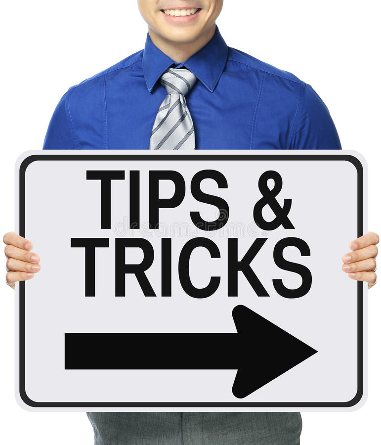 Tips and Tricks stock images