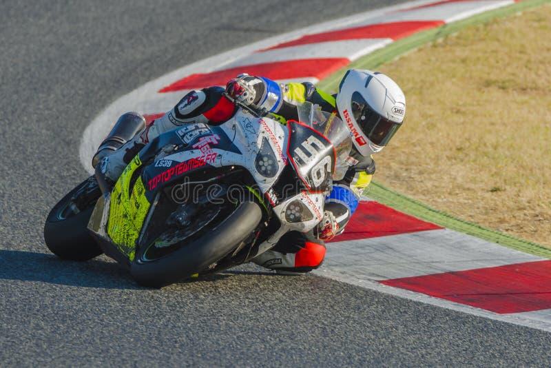 TipTopTeam 56 24 ώρες Motorcycling Catalunya στοκ φωτογραφίες