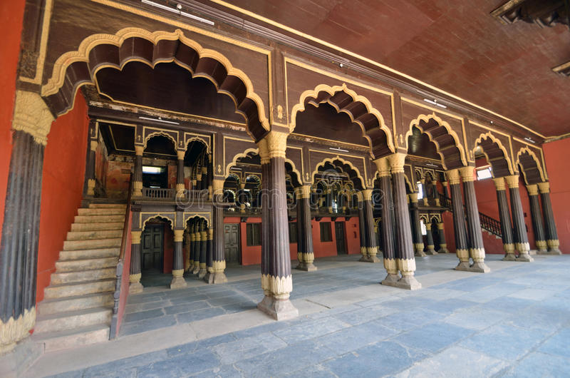 Tipu Sultan Palace royalty free stock photo