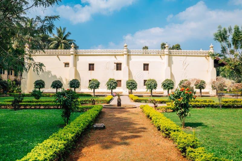 Tipu Sultan`s Summer Palace at Bangalore, India. Tipu Sultan`s Summer Palace in Bangalore, India royalty free stock photo