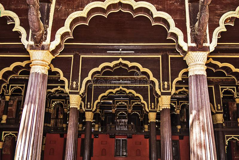 Tipu Sultan Summer Palace arkivfoto