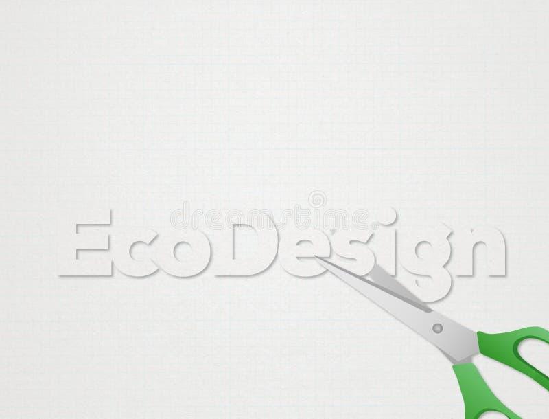 ?tiquetage de conception et d'?nergie d'Eco photographie stock libre de droits