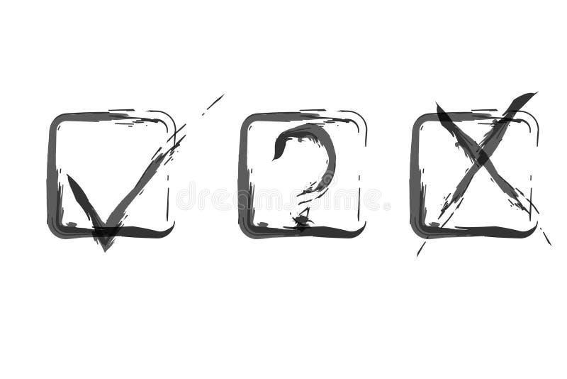 Tiquetaques da aquarela ilustração do vetor