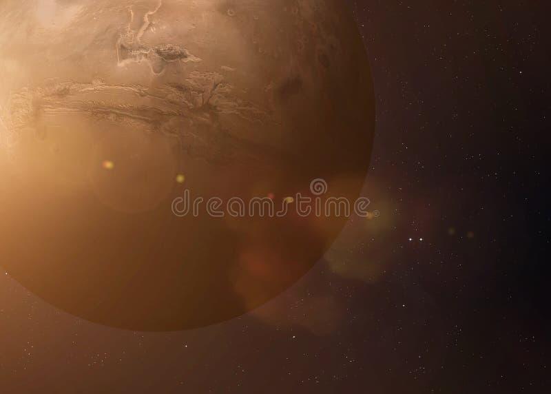 Tiré de Mercury pris de l'espace ouvert collage photos libres de droits