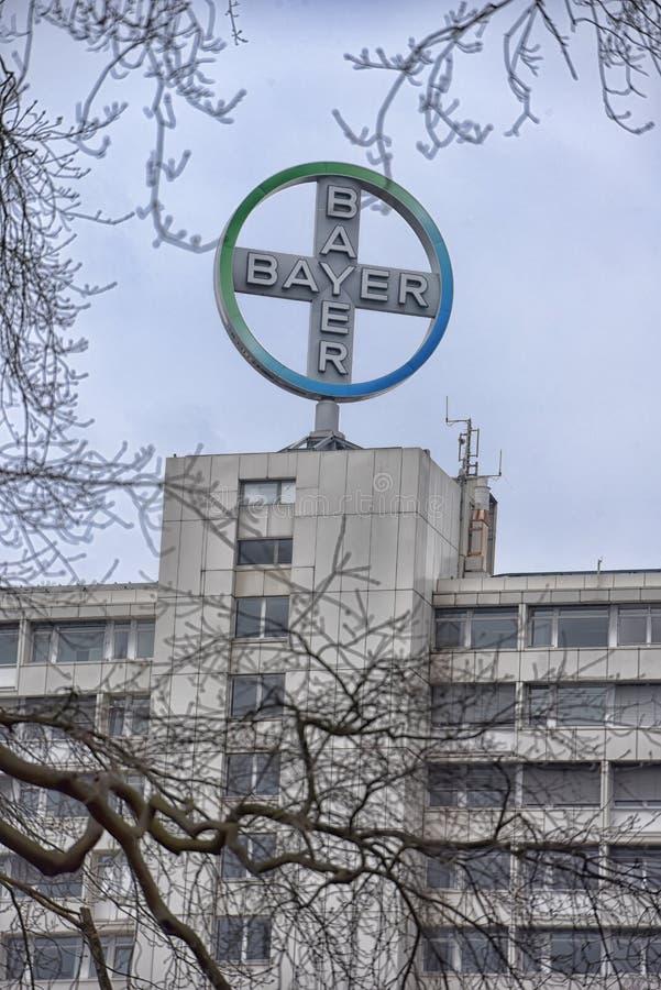 Tiré du logo de Bayer images libres de droits