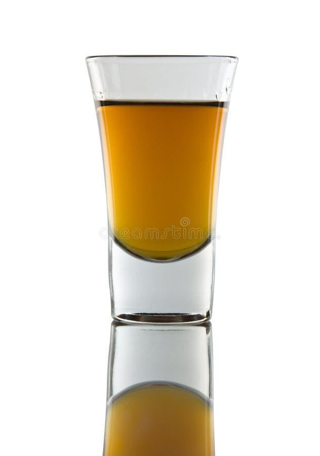 Tiré du whiskey photographie stock