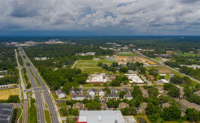 Tir aérien de Gainesville FL photos libres de droits