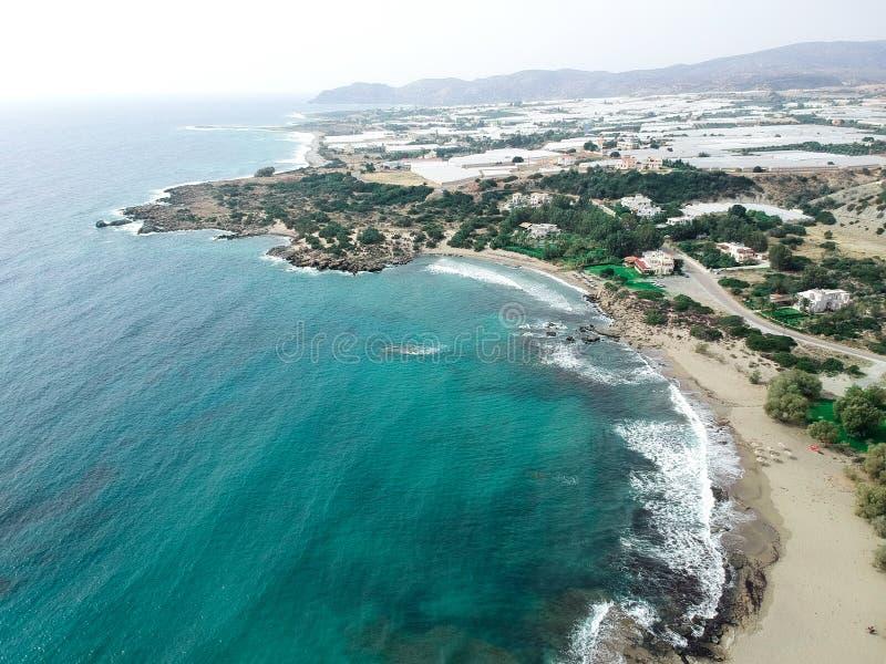 Tir de bourdon en Grèce Paleochora image libre de droits
