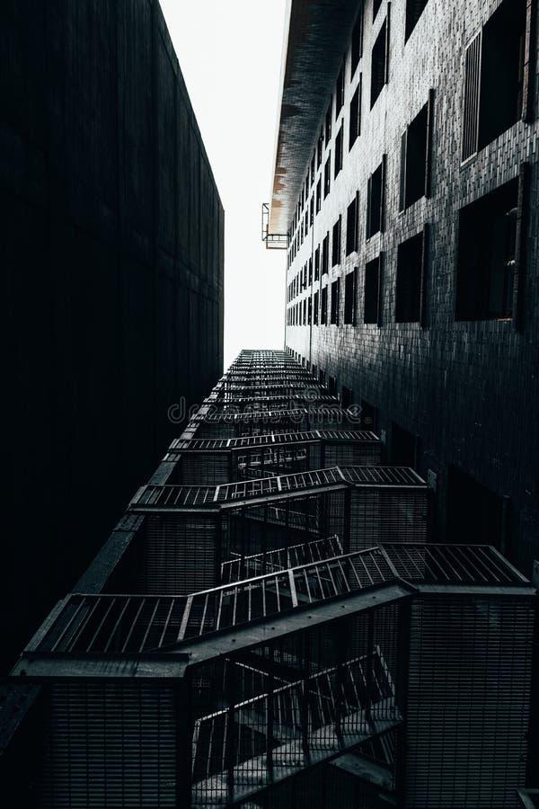 Tir de consultation d'escalier photographie stock