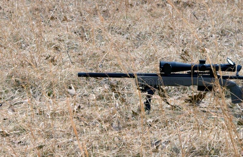 Tir de fusil de précision image stock