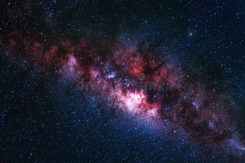 Tir de l'espace d'univers de galaxie de manière laiteuse avec des étoiles illustration de vecteur