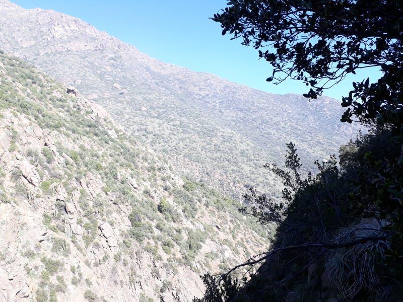 Tir de montagne image libre de droits
