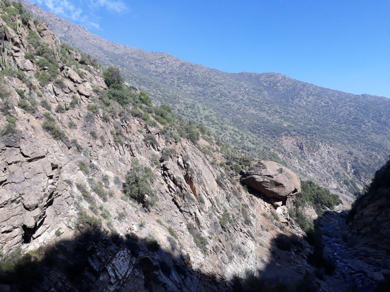 Tir de montagne images libres de droits
