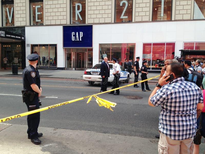 Tir de New York City à la trente-quatrième rue photos libres de droits