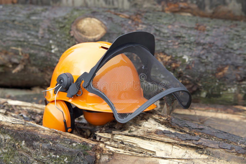 Tir extérieur de casque de protection photos stock