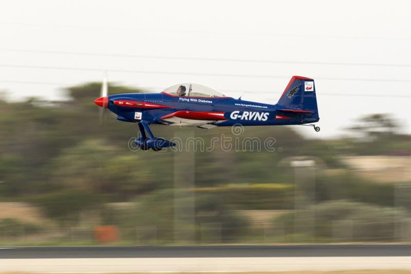 Tir filtré par avion léger images libres de droits