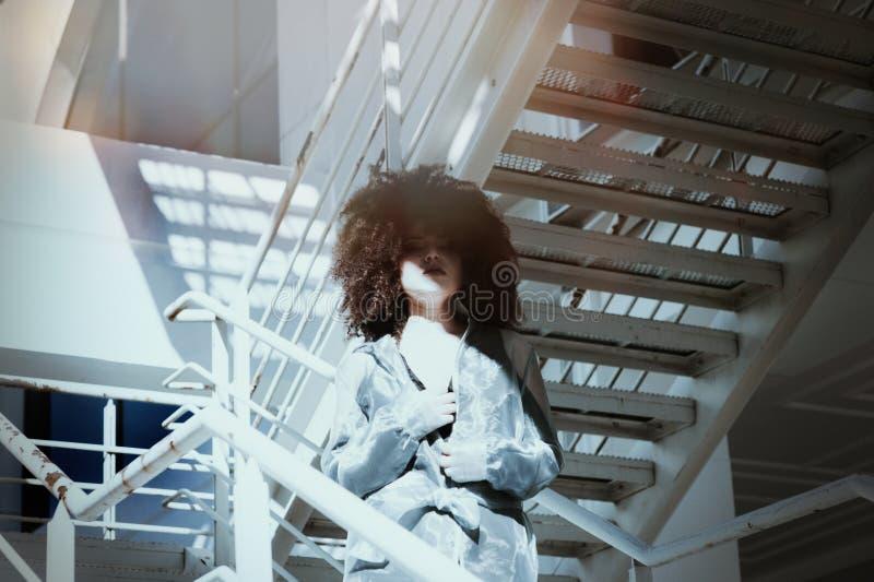 Tir sur les escaliers