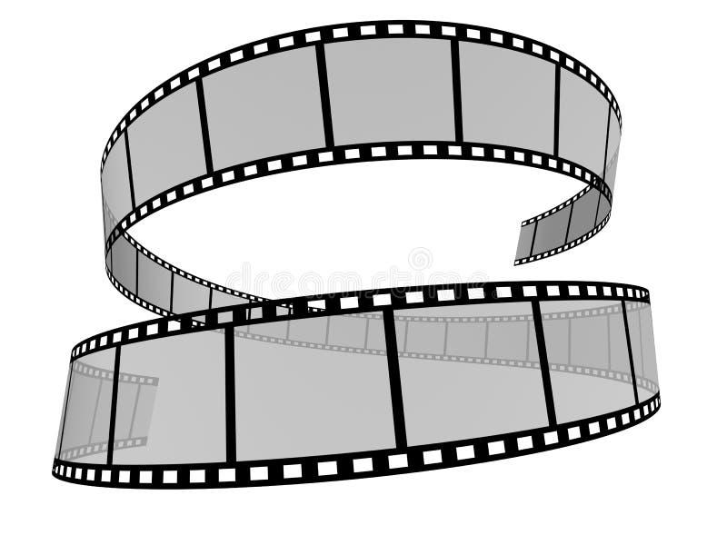Tira 11 da película ilustração stock