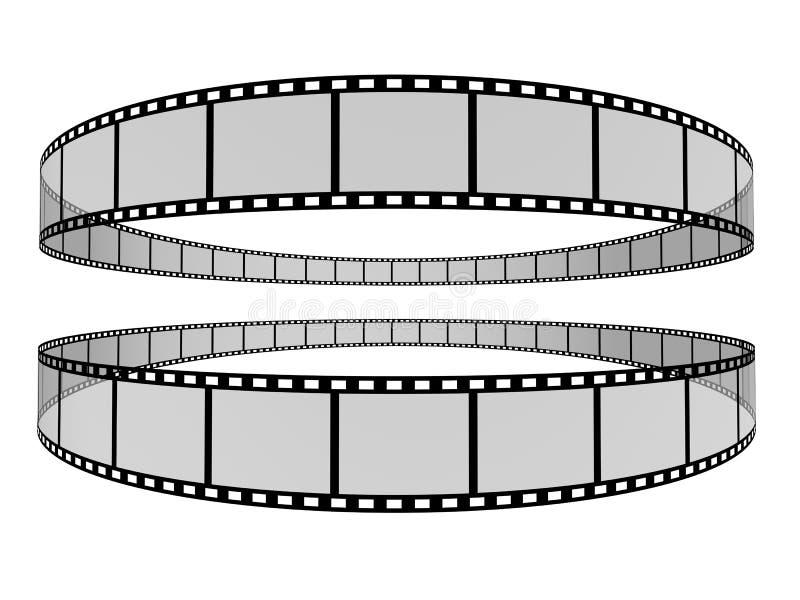 Tira 7 da película ilustração royalty free