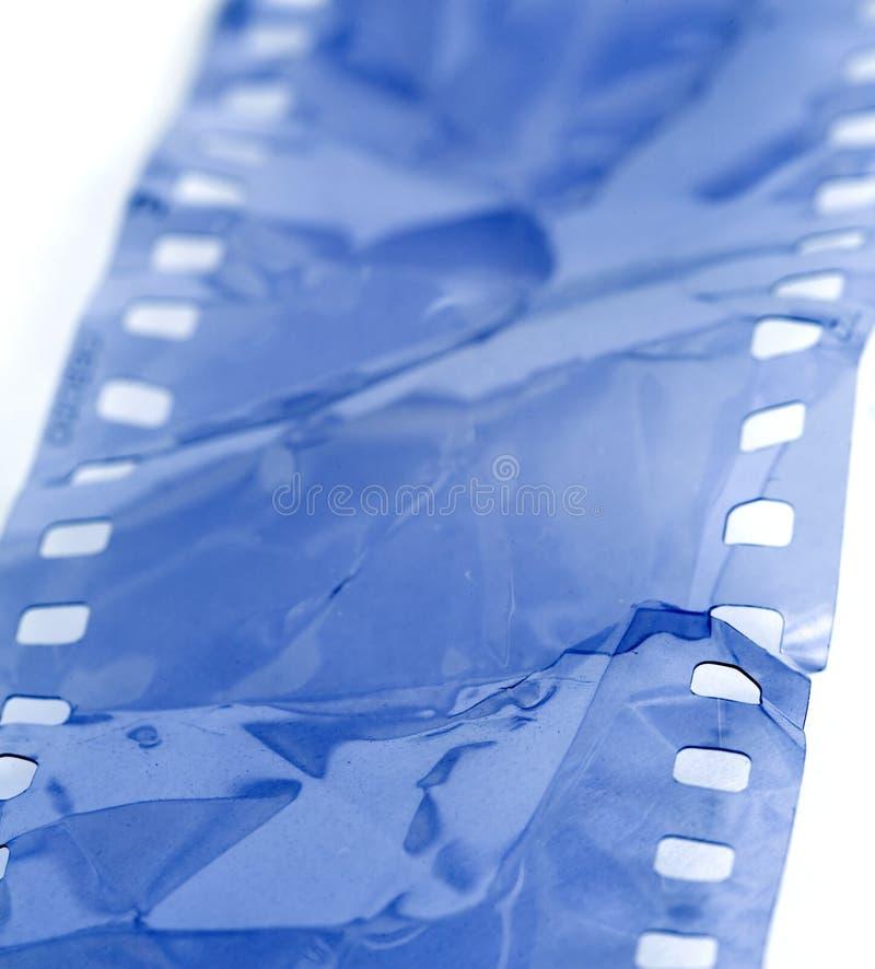 Tira dañada de la película fotos de archivo libres de regalías