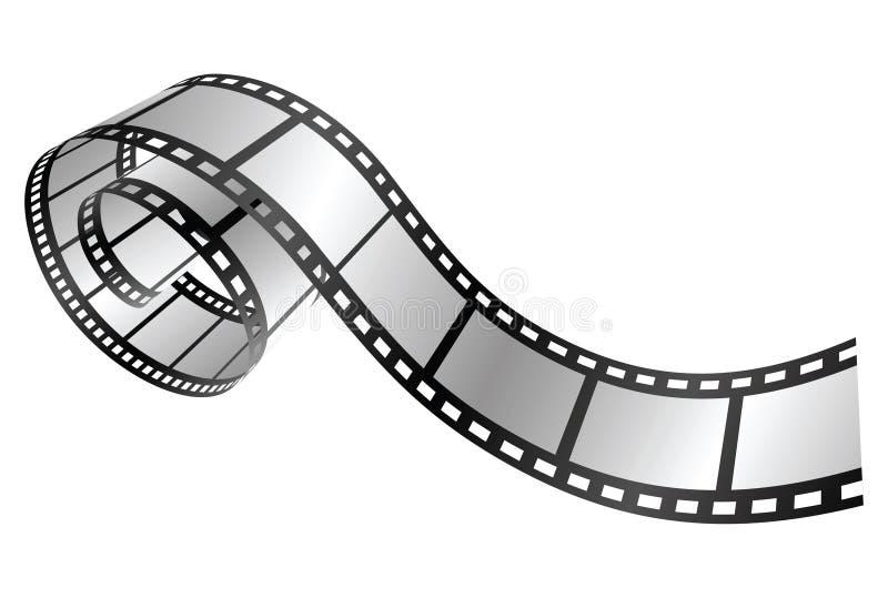 Tira da película ilustração stock