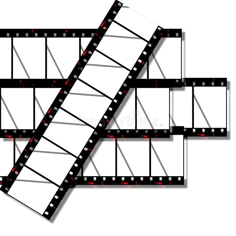 Tira da película ilustração do vetor