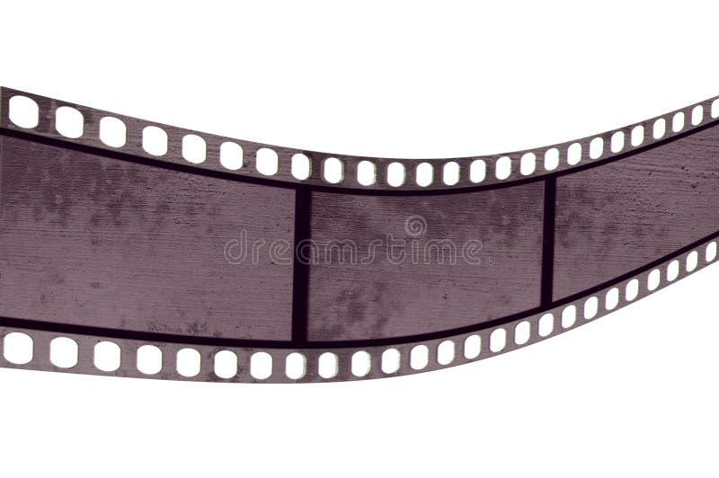 Tira da película de Grunge ilustração stock