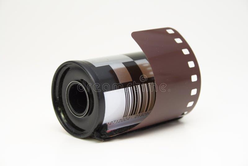Tira da película no rolo imagem de stock royalty free