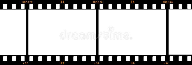Tira de la película ilustración del vector