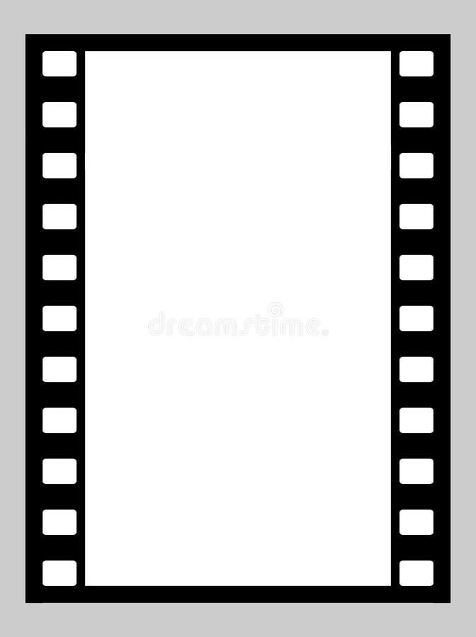 tira de la película de 35m m libre illustration