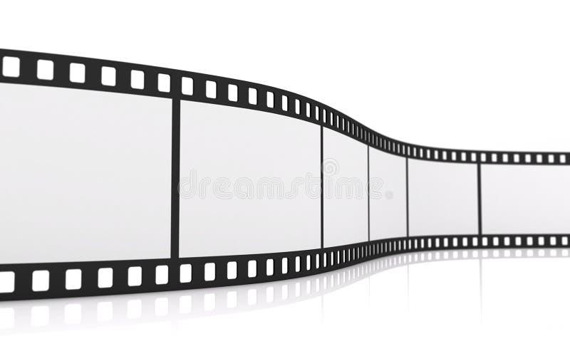 tira de la película de 35m m stock de ilustración