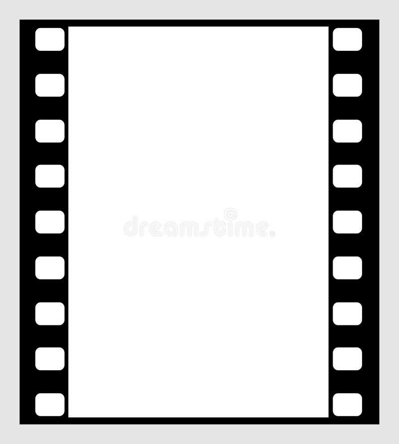 tira de la película de 35m m ilustración del vector