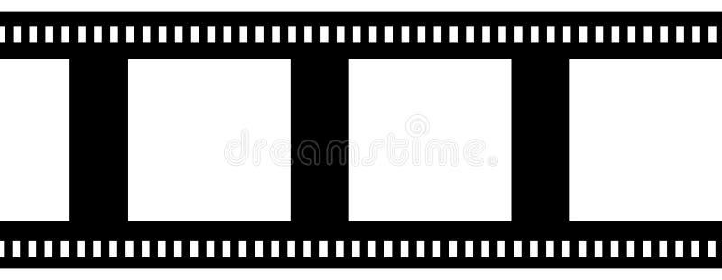 Tira de la película negativa stock de ilustración