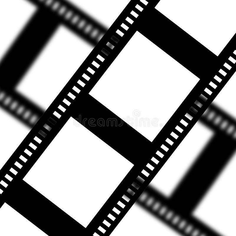 Tira de la película negativa ilustración del vector