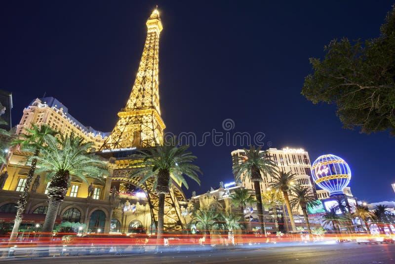 Tira de Las Vegas. foto de archivo