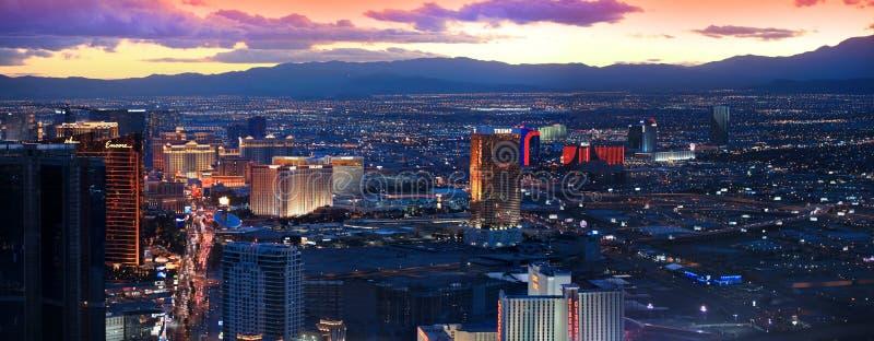 Tira de Las Vegas imagens de stock