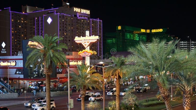 Tira de Las Vegas en Nevada imagen de archivo libre de regalías
