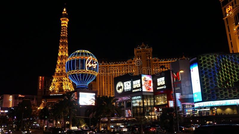 Tira de Las Vegas en Nevada fotografía de archivo libre de regalías