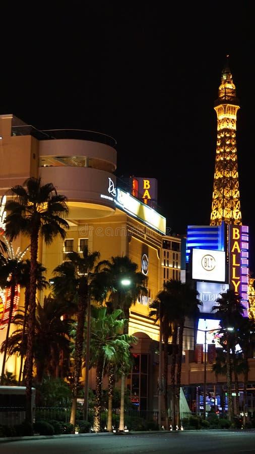 Tira de Las Vegas en Nevada fotos de archivo libres de regalías
