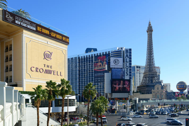 Tira de Las Vegas, Las Vegas, nanovoltio imágenes de archivo libres de regalías