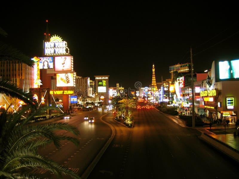 Tira de Las Vegas, Las Vegas, Nevada, los E.E.U.U. foto de archivo