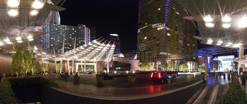 Tira de Las Vegas, noche, zona metropolitana, ciudad, metrópoli imágenes de archivo libres de regalías