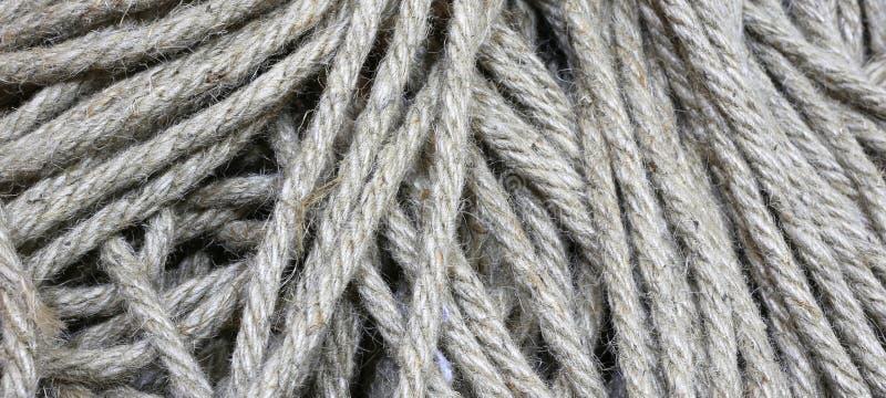 tira de vieja textura cruda de la cuerda imagen de archivo