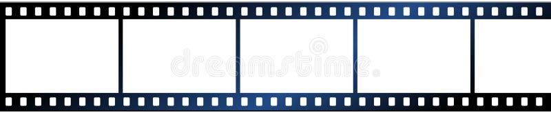 Tira do filme no ícone branco de background ilustração do vetor