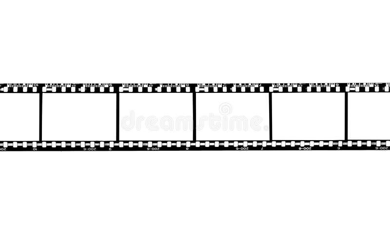Tira en blanco de la película fotos de archivo