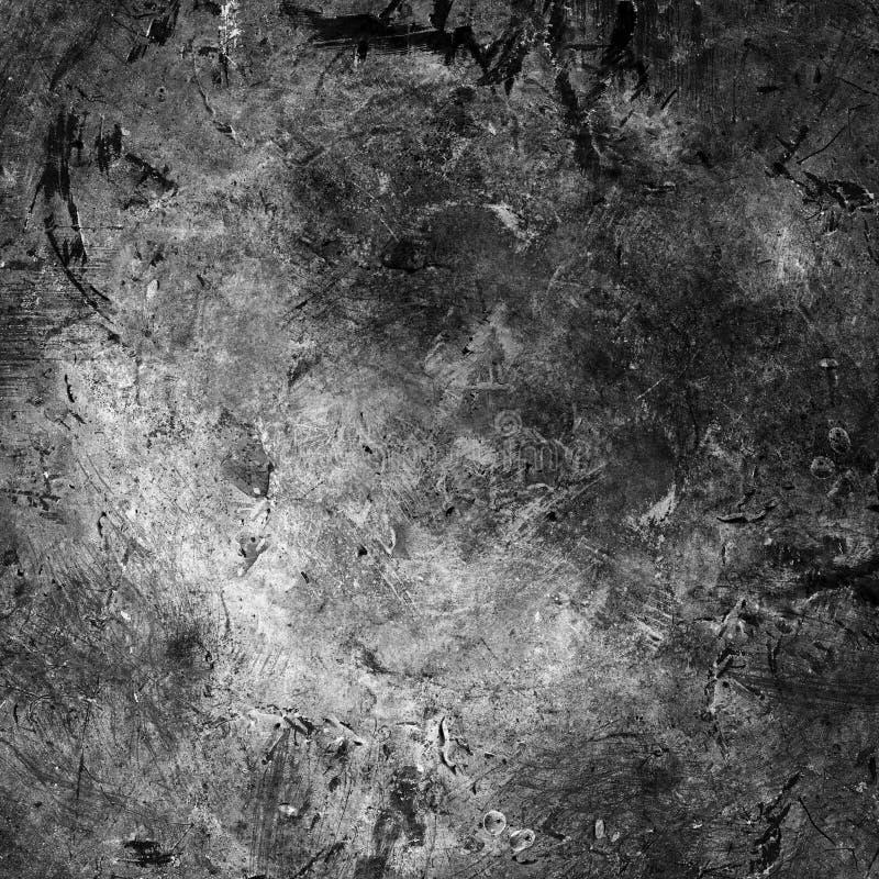 Tira granulosa blanco y negro abstracta de la película foto de archivo libre de regalías