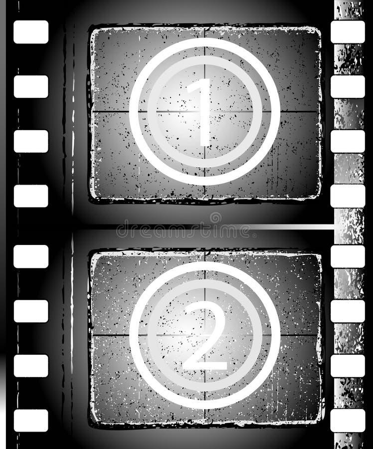 Tira Textured de la película stock de ilustración