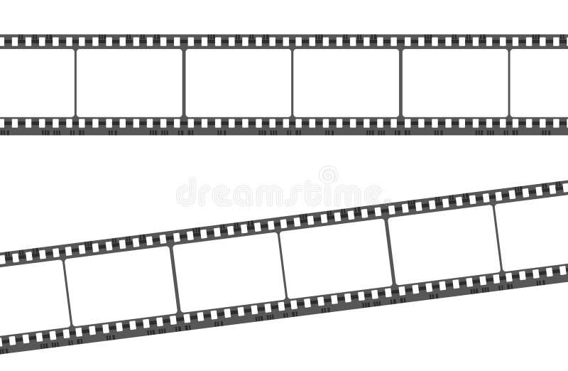 Tira vazia da película ilustração do vetor