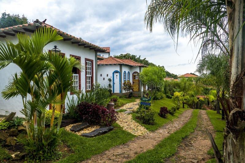 Tiradentes旅舍环境美化 图库摄影