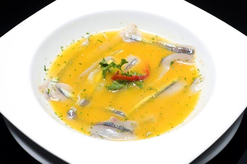 Tiradito.Typical Peruvian dish. Tiradito.Typical Peruvian dish made mainly with Silverside fish and chili stock image